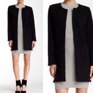 Harlowe & Graham Black Dress Coat